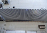 屋上防水シート劣化