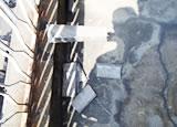 外壁開口部抱きモルタル浮き